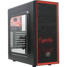 <b>Корпус Deepcool TESSERACT SW</b> Red без БП с окном — купить в ...