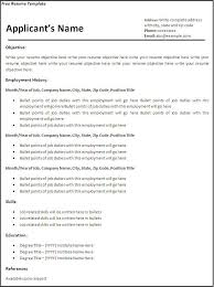 Pdf Resume Template  curriculum vitae resume samples pdf       free resume template happytom co