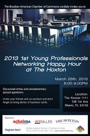 south florida nights magazine bacc young professionals bacc young professionals networking happy hour at the hoxton