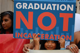Image result for school to prison pipeline rally