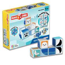 <b>Geomag MAGICUBE</b> Polar Animals | Магнитные кубики <b>Полярные</b> ...