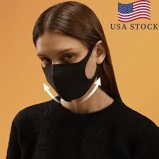 Breathable <b>Face Mask Polyurethane</b> Sponge <b>Face Mask</b> Reusable ...