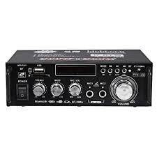 <b>BT</b>-<b>298A 12V 220V</b> HiFi Audio Stereo Power Amplifier: Amazon.in ...