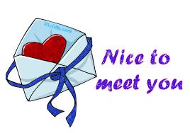 """Résultat de recherche d'images pour """"nice to meet you"""""""