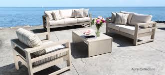 comfortable patio chairs aluminum chair: aura cast aluminum patio furniture conversation set with a modern luxury design in toronto