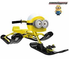 <b>Снегокат Snow Moto MINION</b> Despicable ME yellow купить в ...