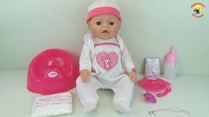 <b>Baby Warm</b> – обзор куклы. Кушает, плачет и купается (аналог ...