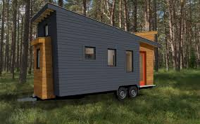 Living in a shoebox   Tiny house plans released for the model STEM    Front Left