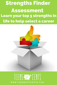 strengthsfinder assessment teensgotcents strengthsfinder assessment