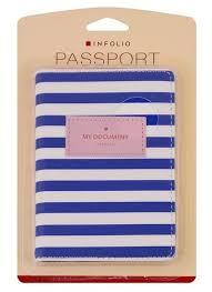 <b>Обложка для паспорта</b> seaside иск кожа