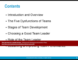 building effective teams powerpoint
