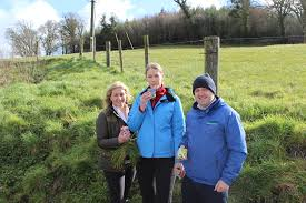 agri aware s farm walk and talk a huge success aeva andersson student at st columba s comprehensive school glenties co donegal pictured dr vanessa woods ceo agri aware and adrian mckeague of