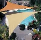 Sun shade triangle