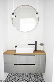 bathroom vanities mirrors and lighting. mirrors minimalism moroccan tiles morrocan style bathroom white round mirror with lights for vanity awesome circle vanities and lighting