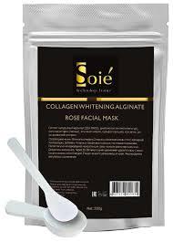 SOIE Осветляющая <b>коллагеновая маска для</b> лица с экстрактом ...