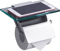 <b>Держатель туалетной бумаги Rush</b> Edge ED77131 с полкой для ...