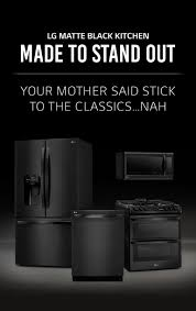 LG Matte Black <b>Stainless Steel</b>: Embrace <b>the</b> Dark <b>Side</b> | LG US