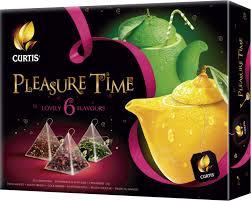 Набор <b>чая Curtis ассорти</b> Assorti Tea Collection Pleasure Time 30 ...