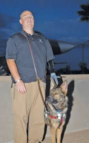 Vet receives <b>four</b>-<b>legged</b> friend > Luke <b>Air Force</b> Base > Article Display