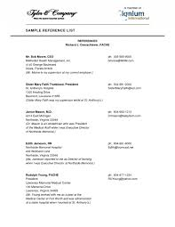 example resume references law enforcement resume example career    reference list sample resume sample resume reference page cvtips references for resume examples f e