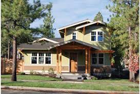 Eplans Cottage House Plan   Two Story Craftsman Home   Square    Front