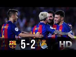 FC Barcelona vs Real Sociedad 5-2 - All Goals And Highlights ...