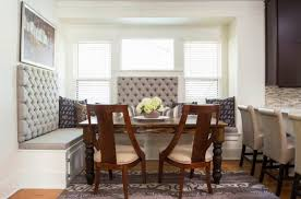 furniture banquette with storage and tufted back plus rustic wood table added wooden chair with banquette furniture with storage