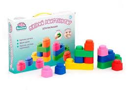 <b>Мягкий конструктор Elefantino</b> IT100476 Для малышей — купить ...