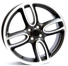 Mini, ALLOY AND STEEL WHEELS; Alloy wheels for mini, 18 inchs ...