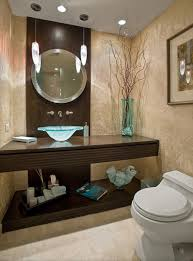 cool guest bathroom idea with round vanity mirror and glass washbowl design feat unique pendant lighting bathroom vanity mirror pendant lights glass