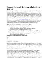 cover letter examples reference letter for a friend letter of cover letter reference letter for a friend for nursing school letter of recommendation sample for