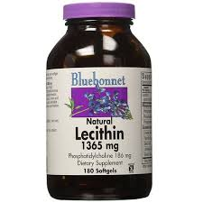 Bluebonnet Nutrition <b>Natural Lecithin</b> - <b>1365 mg</b> - 180 Softgels - Buy ...