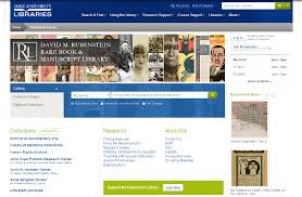 new look for our homepage the devil s tale new rubenstein library homepage