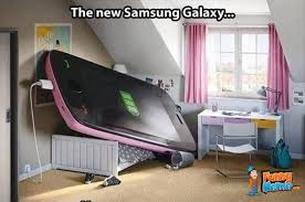 Funny Meme - The New Samsung Galaxy | FunnyMeme.com via Relatably.com