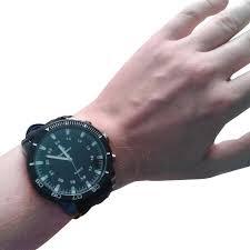 <b>Fashion</b> Silicone Wrist <b>Watch Men's Sports</b> Large Dial Student ...