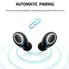 <b>TWS D015 Wireless</b> Bluetooth Earphone 3D Stereo Sound Earbud ...