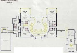 floorplans   Homes of the RichLake Austin Mansion    s floorplans