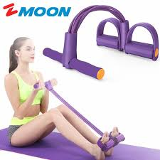 <b>Fitness</b> Sit-up <b>Exercise</b> Equipment <b>Pedal Resistance Band</b> Elastic ...