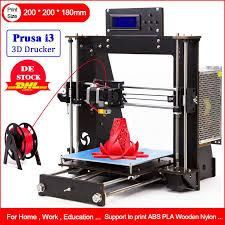 2019 NEW <b>3D Printer</b> Prusa i3 Reprap MK8 DIYMK2A Heatbed LCD ...