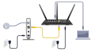 how to configure your netgear router for cable internet connection    reconnect the power of the router and wait for the power light to become solid green