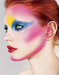 colorful avant garde makeup avant garde