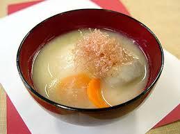 「関西風お雑煮の画像」の画像検索結果