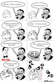 Troll Dad Strikes Again by thechosenone360 - Meme Center via Relatably.com
