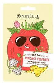 Ninelle Fiesta Macho Tomato <b>очищающая поры маска</b> Помидор ...