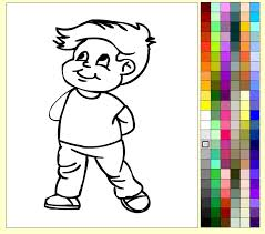 Small Picture Boy Coloring Pages For Kids Boy Coloring Pages YouTube