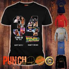 Back to the Future 34 Anniversaryshirt 2 Picturestees Clothing - T Shirt Printing on Demand