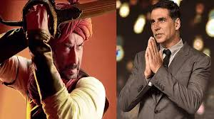 Akshay Kumar cheers Ajay Devgn's <b>100th</b> film, says 'seen your ...