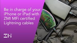 <b>ZMI MFi Certified Lightning</b> Cables - YouTube