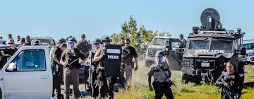 Image result for military attack standing rock