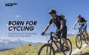 VUP Bike Front Frame Bag, Universal Bicycle ... - Amazon.com